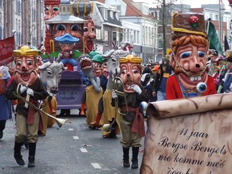 Carnavalsoptocht Bergen op Zoom